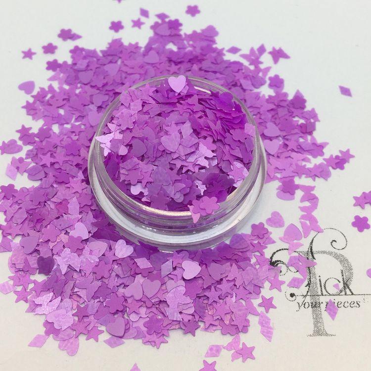 Neon Smash Purple