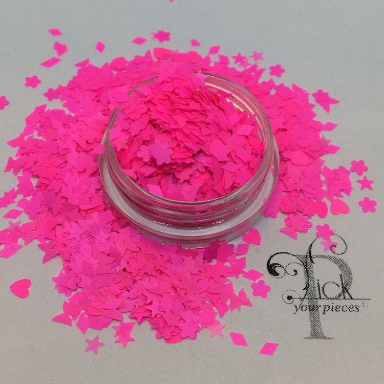 Neon Smash Shocking Pink