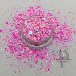 Pretties Multi Mix Marble Pink