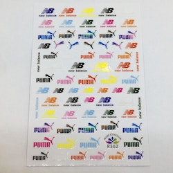 Stickers Logo Puma Mix