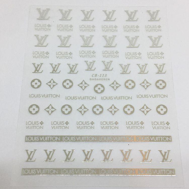Stickers Logo Louis Vuitton