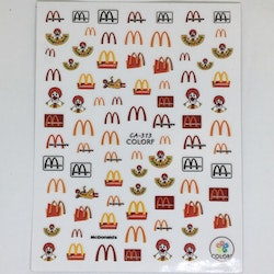Stickers Logo Mc Donalds