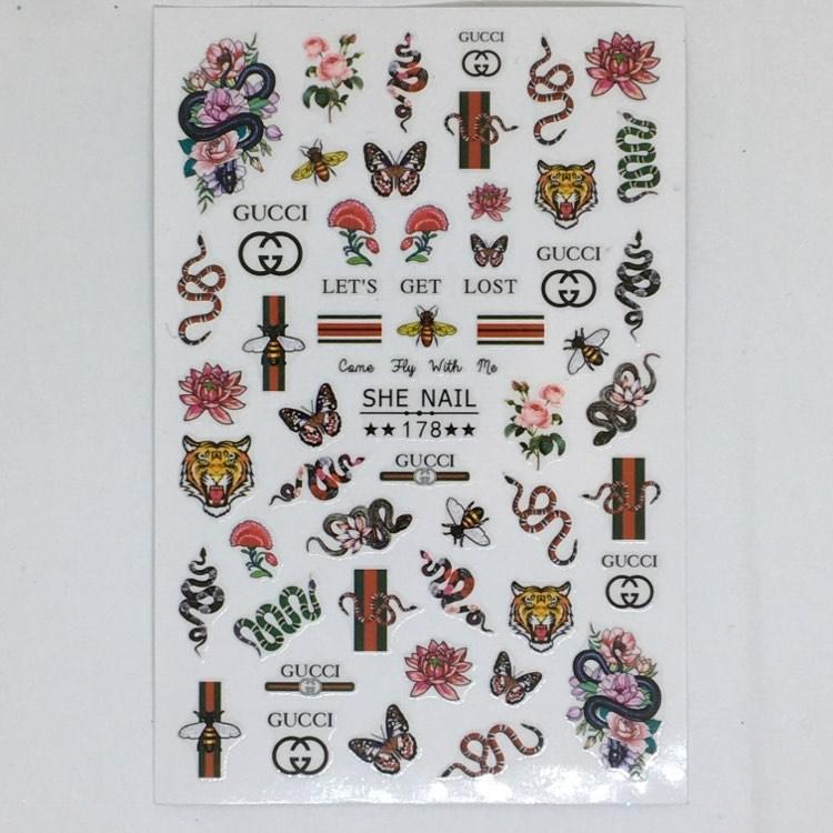Stickers Logo Gucci