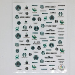 Stickers Logo Starbucks