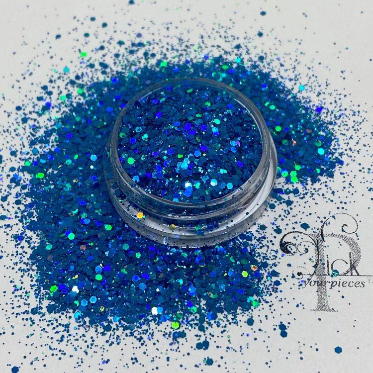 Holo Mini Mix Light Blue