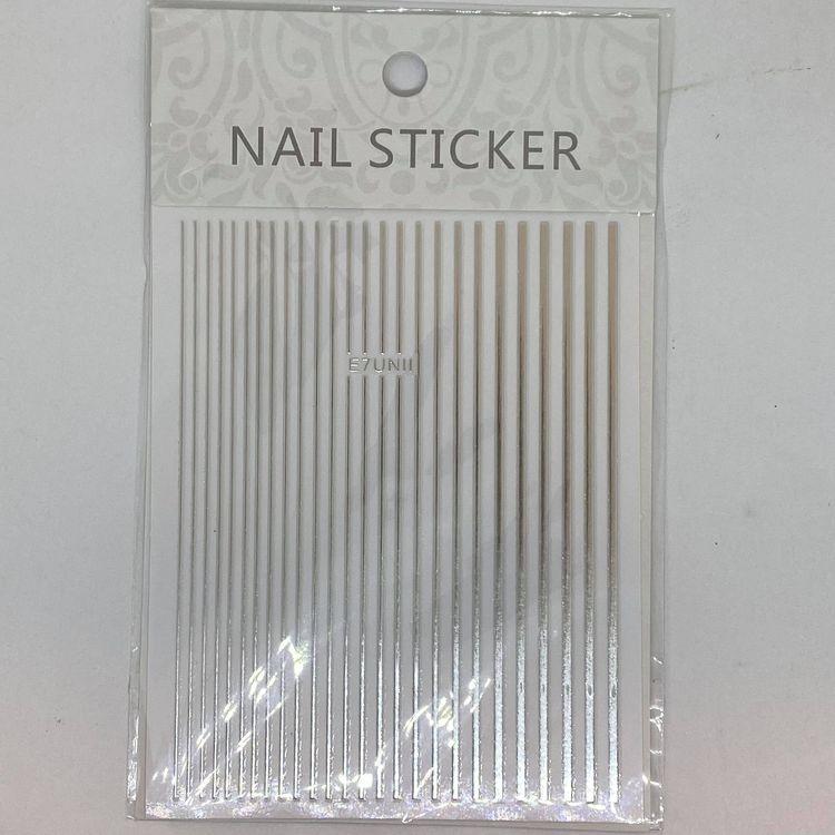 Flexible Striping tape Silver