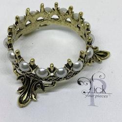 Pensel-hållare Krona Guld