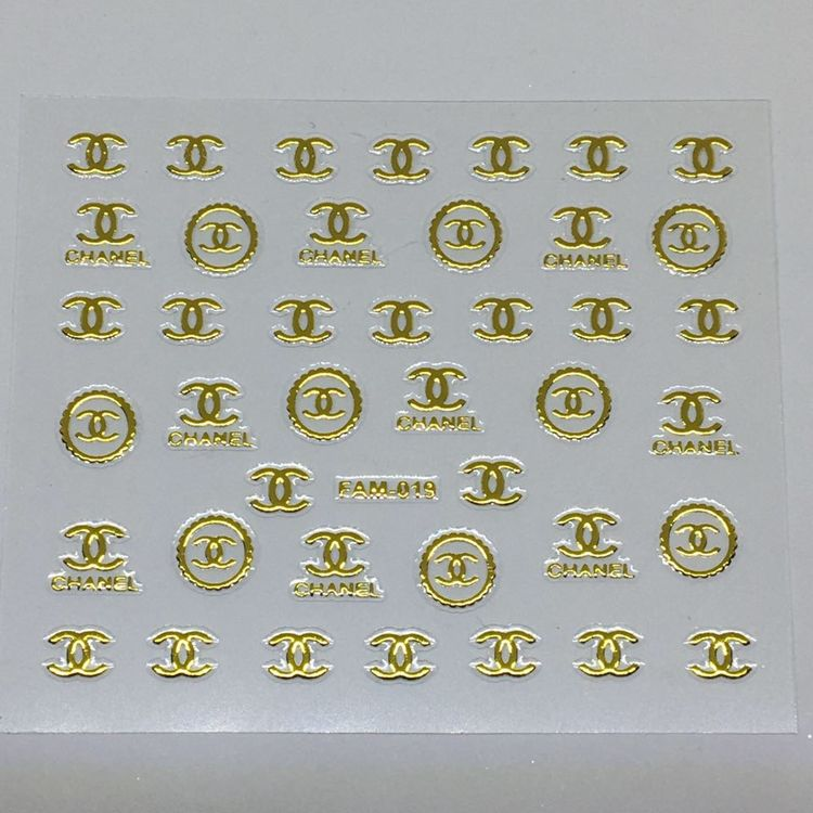 Stickers Logo Chanel