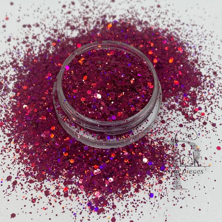 Holo Mini Mix Pink