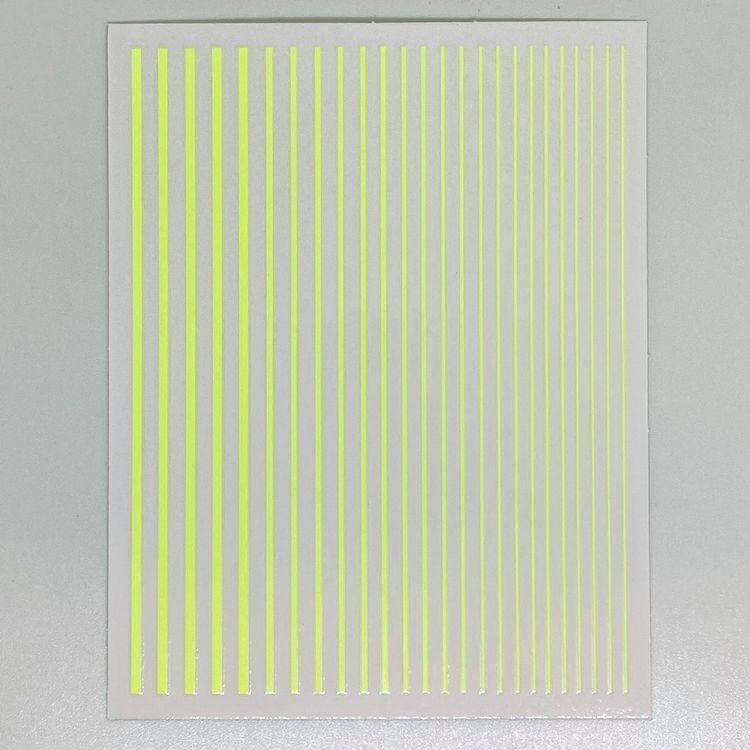 Flexible Striping tape Neon Yellow