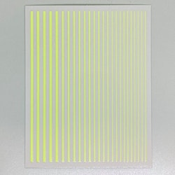 Flexible Striping tape Neon Yellow