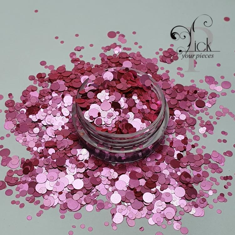 Glamour Dots Pink Devine