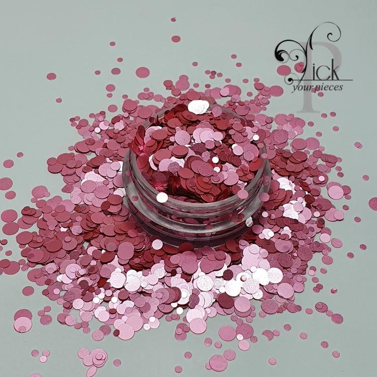 Glamour Dots Dazling Rose