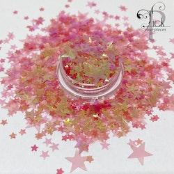 Big Mix Stars Iridescent Pink