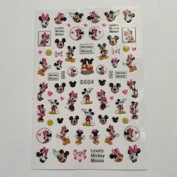 Stickers Musse Pigg