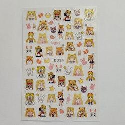 Stickers Sailor Moon