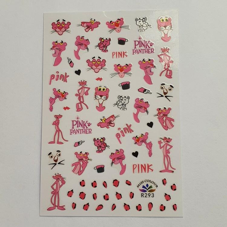 Stickers Rosa Pantern