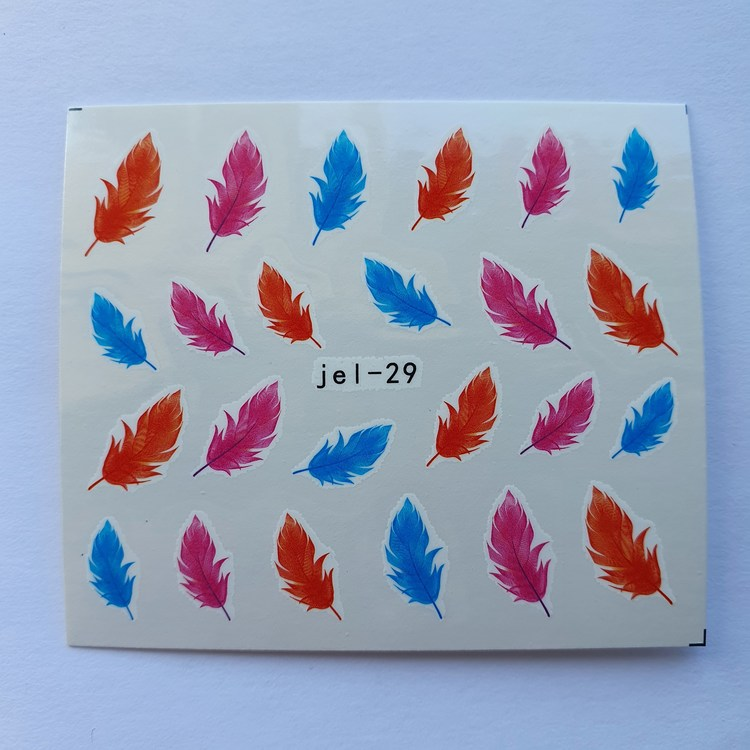 Waterstickers Feather