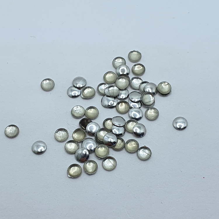 Metall Dots Silver