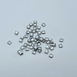 Metall Square Silver