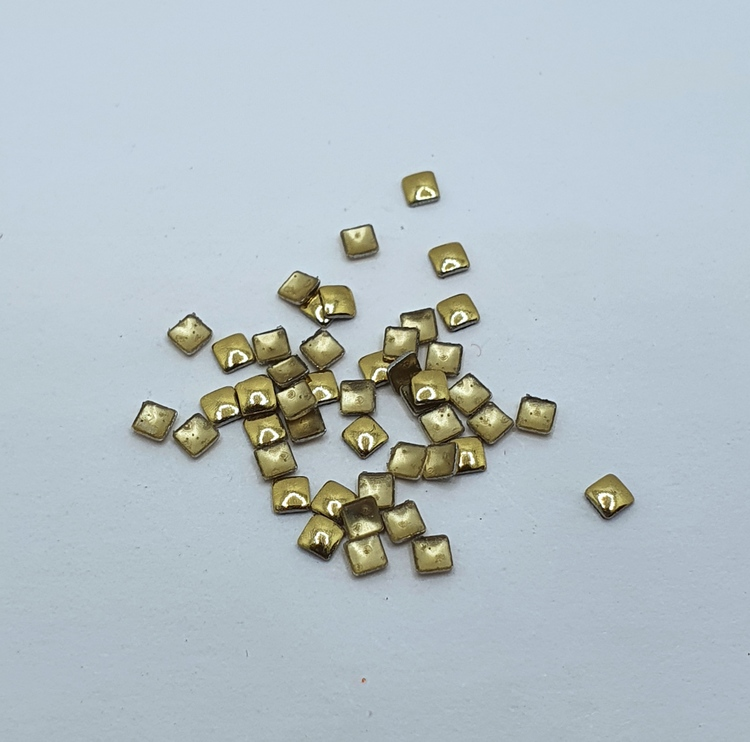 Metall Square Gold