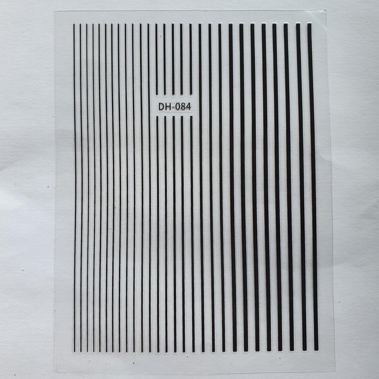 Striping Tape Svart
