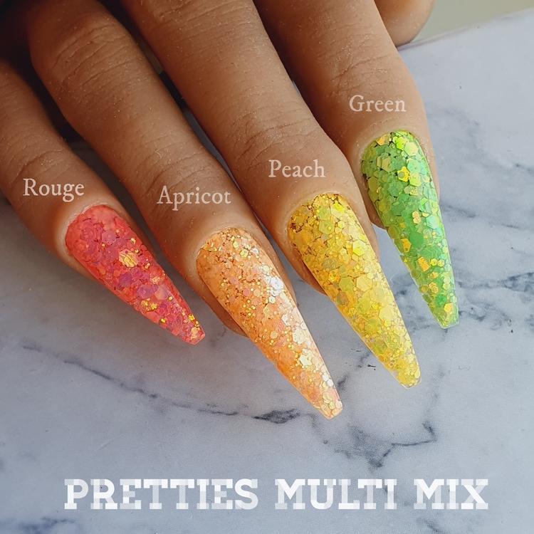 Pretties Multi Mix Green