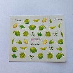 Waterstickers Frukt