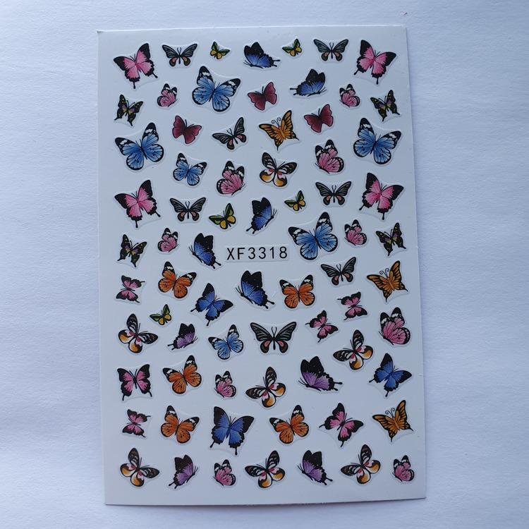 Stickers Fjäril