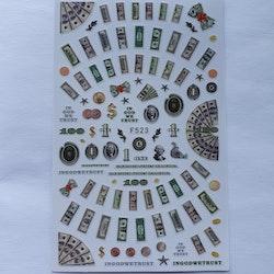 Stickers Money