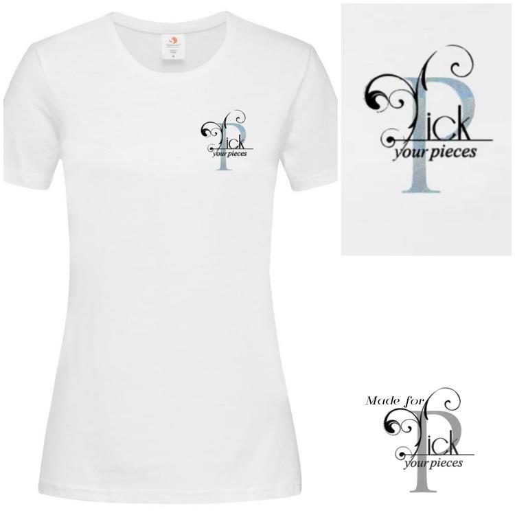 T-shirt PyP Logo Vit