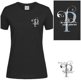 T-shirt PyP Logo Svart
