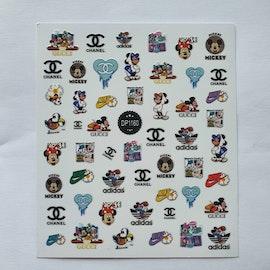 Stickers Logo Musse Pigg