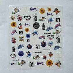 Stickers Logo Nike/playboy