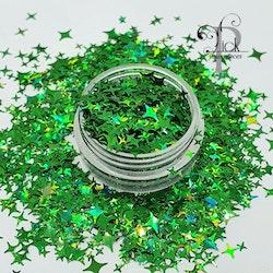 Star Holo Green