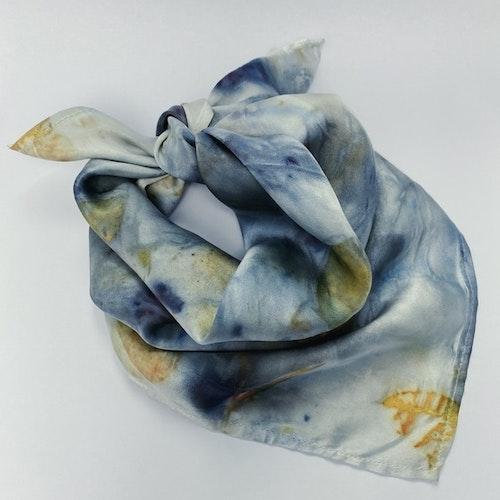 Peace Silk Scarf - Eucalyptus