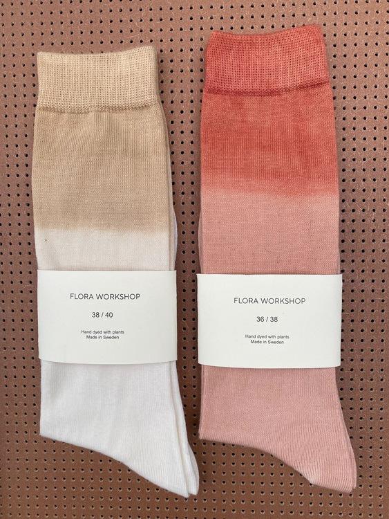 Wool socks - Dip dye