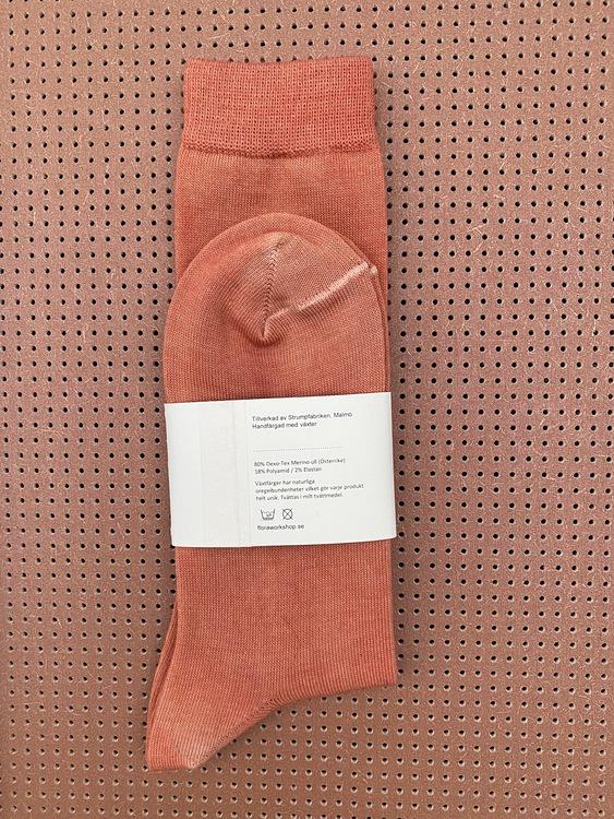 Wool socks - Rust
