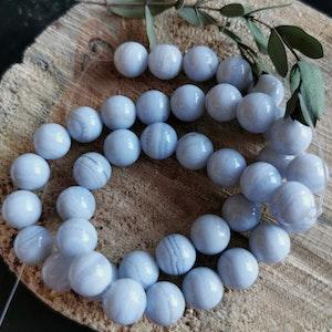 Blå Kalcedon
