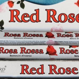 Rökelse Red Rose