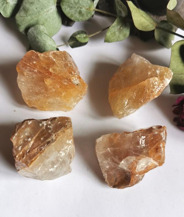 Råsten Gul Bergskristall/Golden Healer