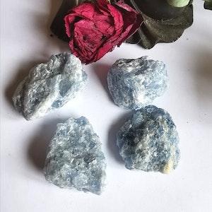 Råsten Blå Kalcit