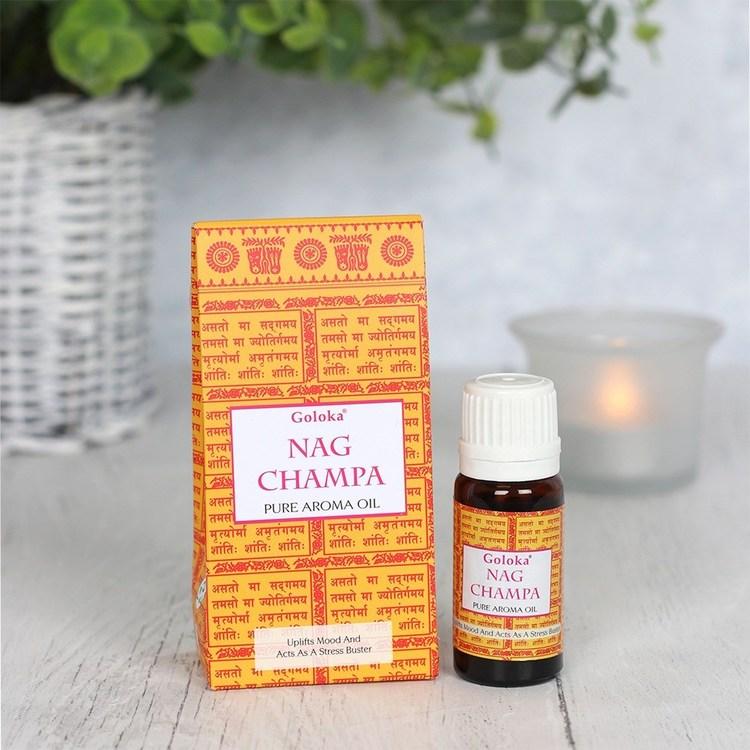 Aromaolja Nag Champa
