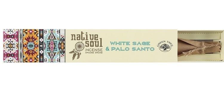Rökelse Vit Salvia & Palo Santo
