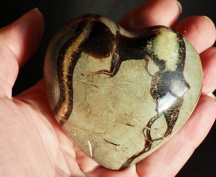 Stort Hjärta Septarian
