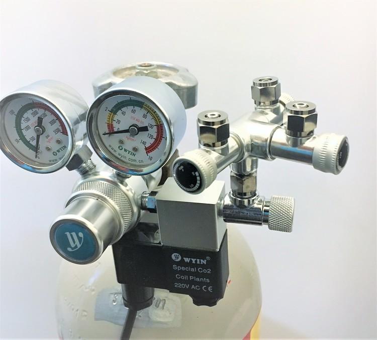 CO2-splitter, 3-vägs