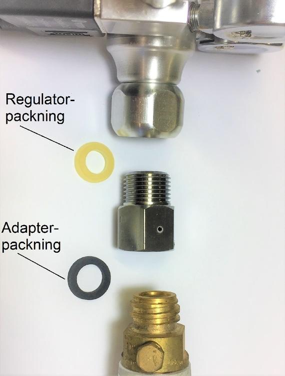 Packning/ Planbricka till adapter (Adelövs)