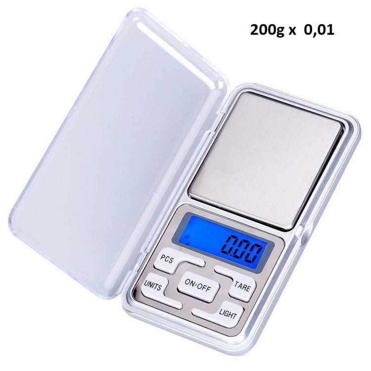 Pocketvåg 200g x 0,01g