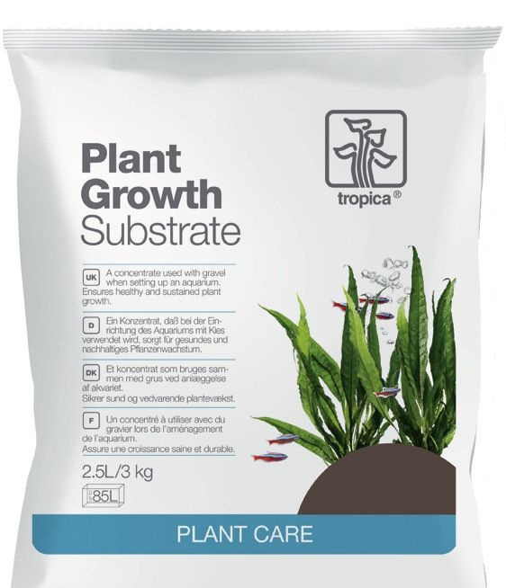 Plant growth substrate. Tropica