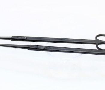 Aquascaping tools, svart kit.